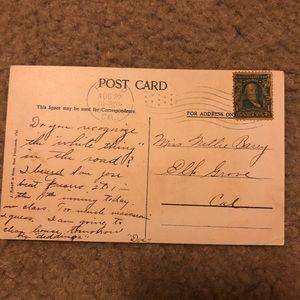 1900 stamp of Ben Franklin a gem 13 perf